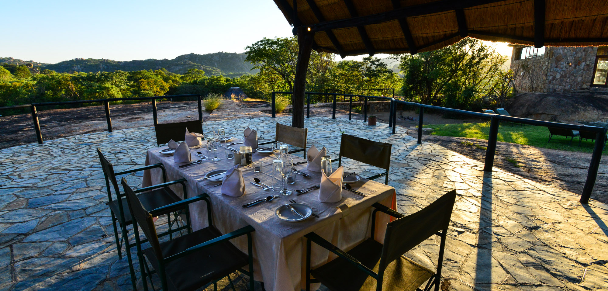 Matobo Hills Lodge Meals
