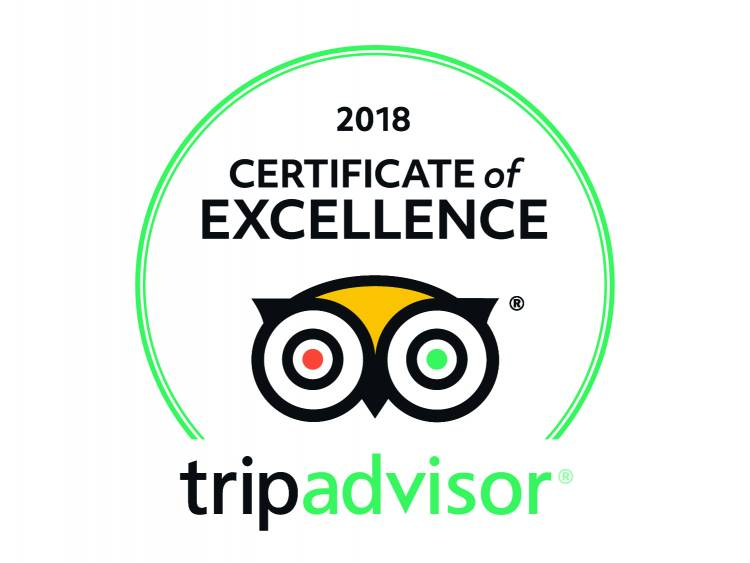 PRESS RELEASE: Matobo Hills Lodge wins TripAdvisor Certificate of Excellence 2018 (For The 4th Year In A Row)