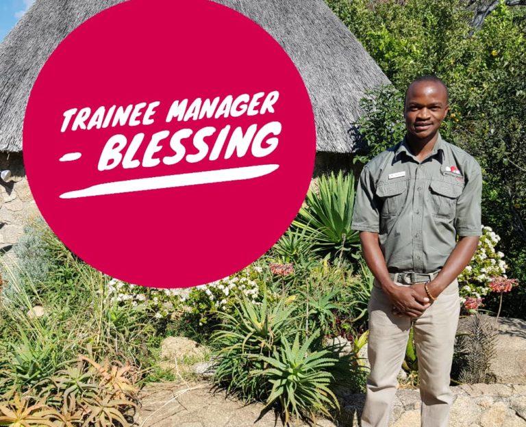 Blessing Muchape Matobo Hills Lodge Trainee Manager