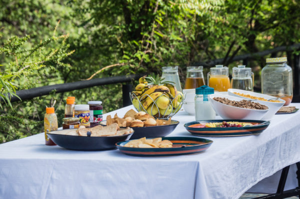 Matobo Hills Lodge Breakfast