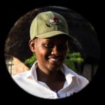 Waitress at Matobo Hills Lodge