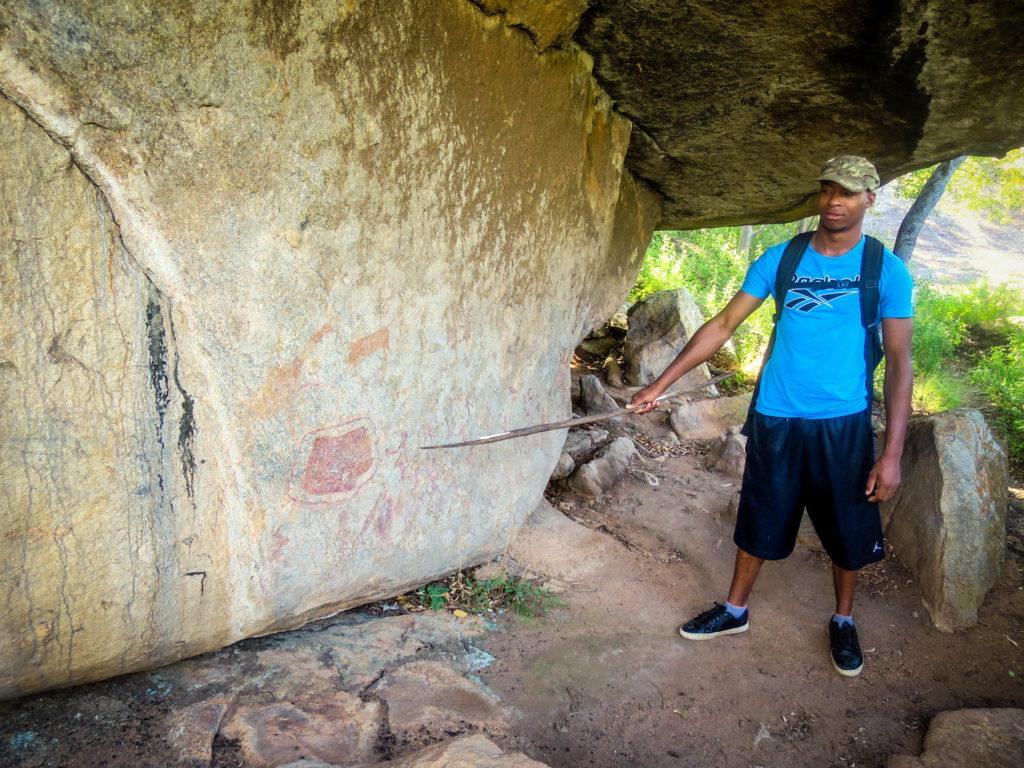 Inankle, Matopos, Matobo, San Bushman, Pre-historic art