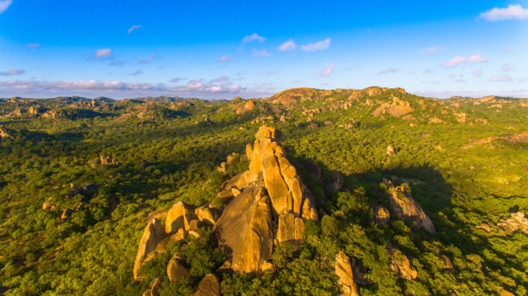 SOME NAMES OF THE 'HILLS' IN THE MATOBO HILLS