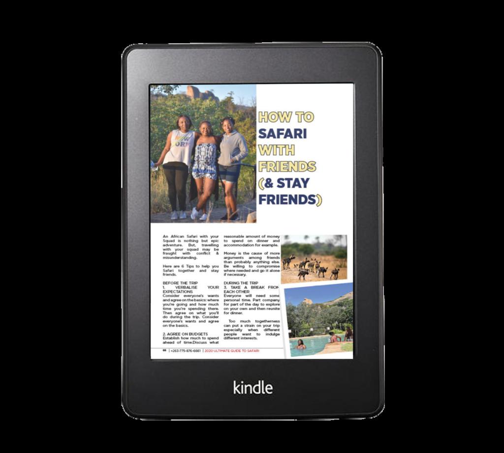 the ultimate guide to safari on amazon kindle