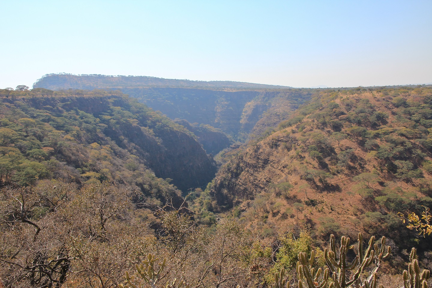 What do the names of some of Zimbabwe's National Parks mean?