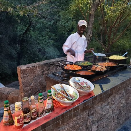 Matobo Hills Lodge Dining